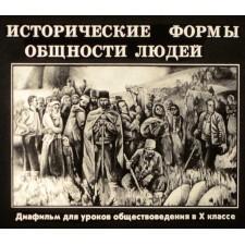 Исторические формы общности людей
