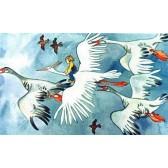 Чудесное путешествие Нильса с дикими гусями. Диафильм в двух частях