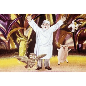 Путешествие в страну обезьян (Доктор Айболит)